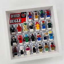 Display case Frame for Lego Spiderman Daily Bugle minifigures 76178 27cm