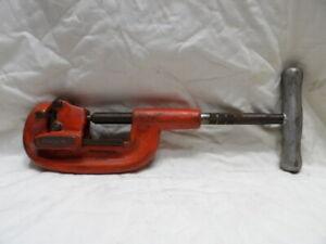 "Ridgid No. 2A Pipe Cutter 1/8"" to 2"""