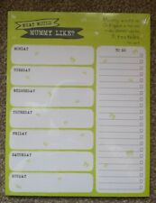 New Wisdom of Kids What Would Mummy Like? Tear Off Weekly Planner & To Do List
