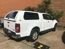 Holden Colorado RG Extra Cab Ute Canopy 2012 – CURRENT LIFT UP SIDE WINDOWS
