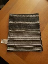 Hugo Boss wool and cashmere checked mens scarf
