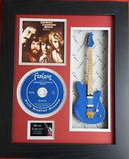 Creedence Clearwater Revival Miniature Guitar & Pendulum CD Framed Presentation