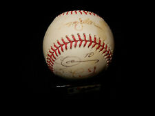 Reggie Jackson signed baseball + various other NY Yankees players autograph ball