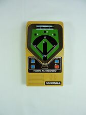 Mattel Electronics BASEBALL handheld portable game 1978 vintage TESTED original