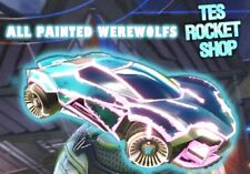 [XBOX ONE] ALL WEREWOLF IMPORTS (PAINTED WEREWOLFS) for Rocket League! *TRUSTED*