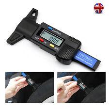 Digital LCD Car/Van/Motorbike Tyre Tread Depth Gauge Check Tester Meter Measure
