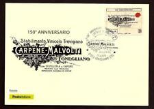 Italia 2018 : Carpenè - Malvolti  - Cartolina Ufficiale Poste Italiane