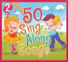 NEW 50 Sing-Along Songs by The Countdown Kids, Various Artists (CD, 010)