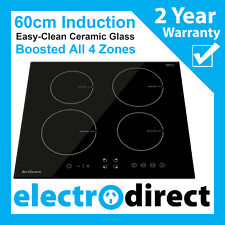 Brilcon 60cm Induction Cooktop Electric Hob Cook Top Stove Ceramic Black Glass