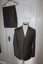 "Mens Brown Milan Suit 40"" Chest Jacket 40R Blazer, 34"" Waist Trousers 29.5"" Leg"