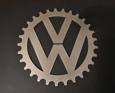 "Volkswagen Vw 10"" Bare Metal Gear Logo"
