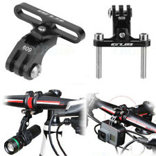 Aluminum Alloy Bike Stem Mount Flashlight Holder Accessories for GoPro Camera GW