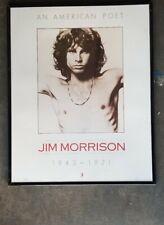 Jim Morris Of The Doors Poster Vintage