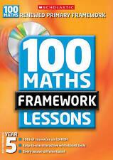 100 New Maths Framework Lessons for Year 5 by Yvette McDaniel (Mixed media produ