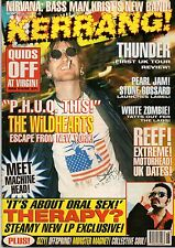 The Wildhearts on Kerrang Cover 1995    White Zombie    Monster Magnet   Skyclad