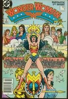 Wonder Woman # 1 FEBRUARY 1987 FINE NEWSSTAND EDITION DC COMICS ITEM: 19436