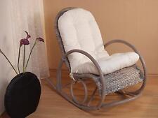 Schaukelstuhl inkl. Auflage Schwingsessel Relaxsessel Schwingstuhl Sessel Stuhl