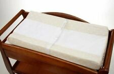 NoJo 2 Pack Dot Changing Table Cover - Ivory withSnow Dots
