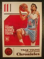 18-19 PANINI CHRONICLES TRAE YOUNG BRONZE SP ROOKIE CARD 94 RC NBA ATLANTA HAWKS