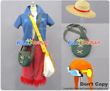 One Piece Strong World-Monkey  Luffy Cosplay Costume Backpack Canteen H008