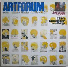 ARTFORUM INTERNATIONAL April 2004 Joan Jonas ELLEN GALLAGHER