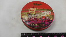 Antique Riley's rum and butter toffee candy round tin