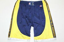 CHAMPION 90'S VINTAGE SPELL OUT TAPE LOGO TAPED SHORTS,RETRO,SIZE:XL