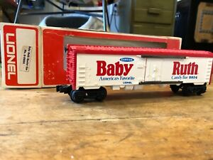 Lionel - Baby Ruth Candy Bar Billboard Reefer Car - No. 6-9854 - O Gauge