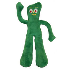 "MULTIPET NOSTALGIC PLUSH GUMBY TOYS 9"" SOFT FILLED DOG TOY. FREE SHIP TO THE USA"