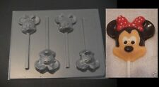 MINNIE MOUSE Face Head Chocolate Candy Soap Mold