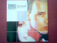 """EROS RAMAZZOTTI & CHER - CD SINGLE """"PIU CHE PUOI"""""""