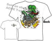 SpeedFink Rat Fink T Shirt Hot Rod Clothes Big Daddy Clothing Ed Roth T Shirts