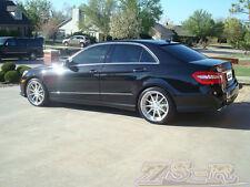 040 Black E63 AMG Look Trunk Spoiler w/ OE Roof Wing 11-13 W212 E350 E550 4Dr