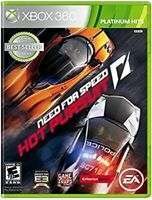 Need For Speed - Hot Pursuit (Microsoft Xbox 360, 2010) EA Games *Cracked Case*