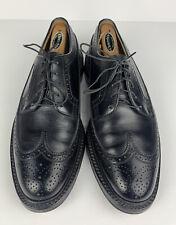 Florsheim Vintage Leather Longwing 92604 Black Men US Size 9