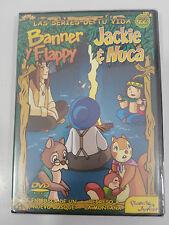 JACKIE & NUCA BANNER Y FLAPPY SERIE TV VOL 22 - DVD 2 CAPITULOS REGION 0