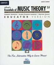 ALFRED'S ESSENTIALS OF MUSIC THEORY 2.0-COMPLETE:CD-ROM WINDOWS/MAC NEW ON SALE!