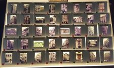 40 Architect HENRI SAUVAGE 35mm Glass Picture Slides of Studio Buildings Flats