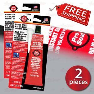 2x Pro Seal High Temp Silicone Glue for BREMBO BRAKE CALIPER COVERS installation