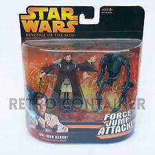 STAR WARS Kenner Hasbro Action Figure - EP III ROTS - Obi-Wan Kenobi + Droid