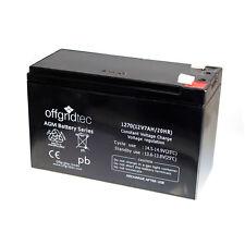 Offgridtec © AGM 7ah 20hr 12v-batería solar Batería extremadamente duradero