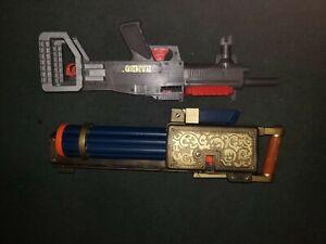 "American West Gatling Gun by Tootsie Toy 18"" long Hong Kong Rambo toy"