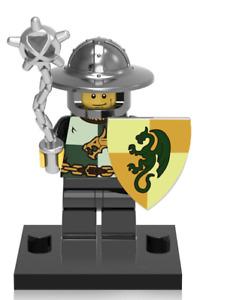 NEW Mini figure DRAGON KNIGHT Warrior Mace Series Minifigure UK STOCK