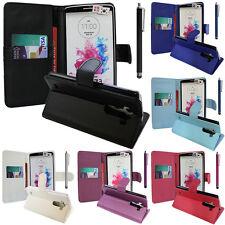 Schutz Hülle für LG G3 D850/ D851/ D855/ VS985 Handy Brieftasche Flip Case