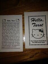 Hello Kitty Tarot Original Black & White by Joe Rosales 2002 OOP! RARE! WOW!!!