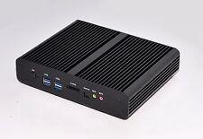 Mini PC HTPC KIT Fanless Intel i7 4500U 3.0GHZ 4GB DDR3 1TB HDD WiFi DHL Free