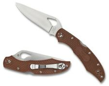 Byrd Cara Cara 2 Lightweight Brown Plain Edge Knife - BY03PBN2