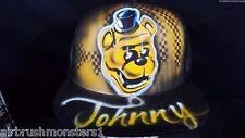 Golden Freddy Five Nights at Freddy's Freddy personalized airbrush trucker hat