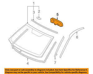 TOYOTA OEM Inside-Rearview Rear View Mirror 8781052041