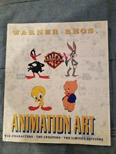 Pre Owned Warner Brothers Animation Art. Book.